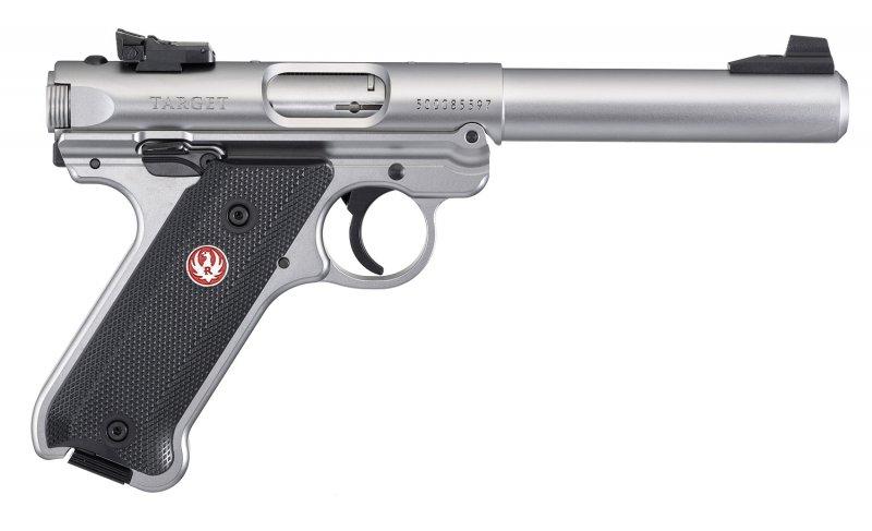 Ruger Mark IV Target Edelstahl