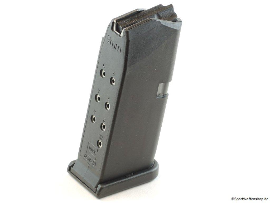 Magazin Glock 26 für Schmeisser AR15-9 10 Schuss