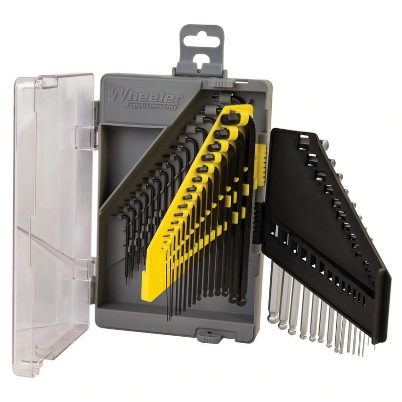 Wheeler Sechskantschlüssel-Set 45 tlg.