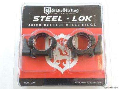 Montageringe Nikko Stirling STEEL-LOK